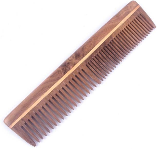 Majik Neem Wood Combs 100% Handmade, Anti- Dandruff