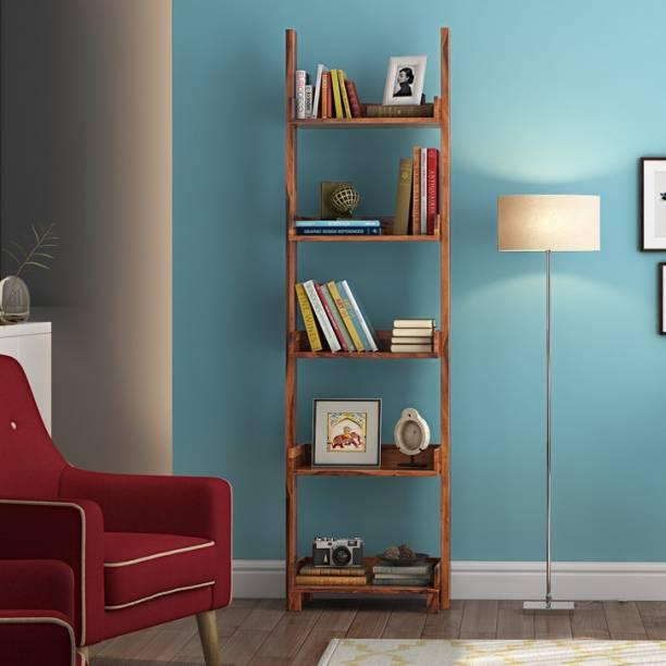 Urban Ladder Sheesham Wood Solid Wood Open Book Shelf