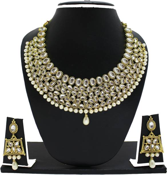 bf2babb34 Kundan Necklaces - Buy Kundan Necklaces online at Best Prices in ...