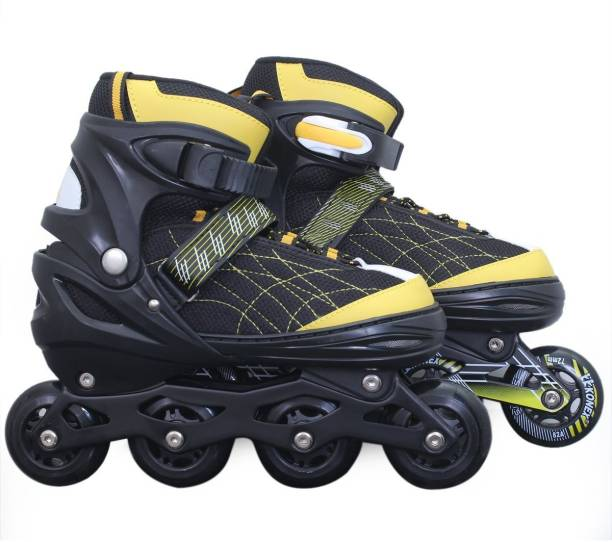 3606fd286247e Xerobic Roller Skates Soft Boot Support System Push Button Adjustment  System