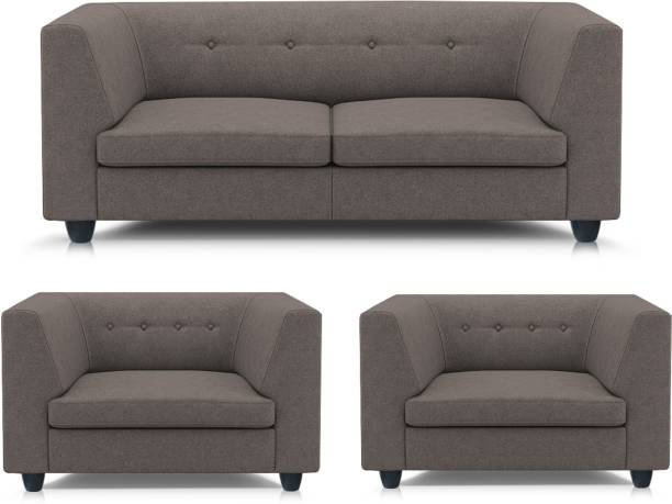 Adorn Homez Flamingo Fabric 2 Seater  Sofa