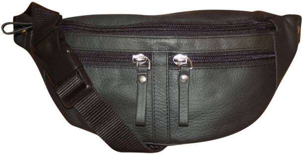 a23087a1e62a Style 98 Genuine Leather waist bag for Men   Women Waist Pouch