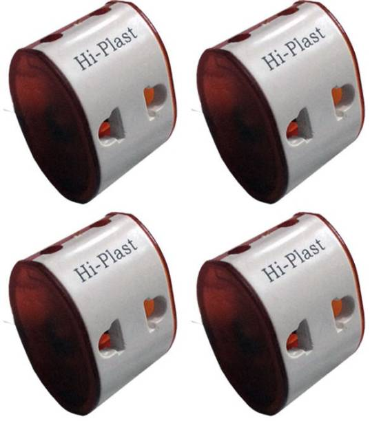 Hi-plast 2 PIN UNIVERSAL TRAVEL MULTIPLUG WORLDWIDE ADAPTOR-4pcs Plug Two Pin Plug