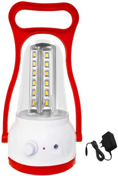GO Power 24 LED Eye Bhaskar with Charger Rechargeable Lantern Emergency Light