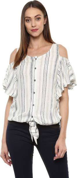 4fad5c26a55e5 Cold Shoulder Tops - Buy Cut Out Shoulder Tops Online at Best Prices ...