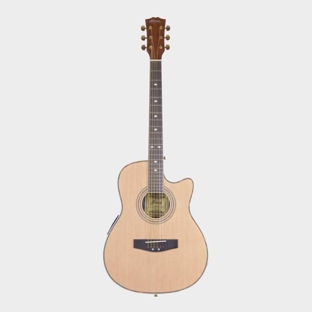 Hertz HZR-4002 Semi Acoustic Guitar with EQ Semi-acoustic Guitar Rosewood Rosewood