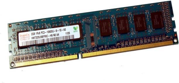 Hynix DDR3-1333/PC3-10600 DDR3 2 GB (Single Channel) PC (2g ddr3 10600u pc ram)