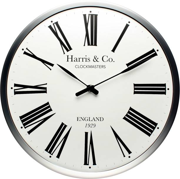 Harris & Co. Clockmasters Analog 13 inch X 13 inch Wall Clock