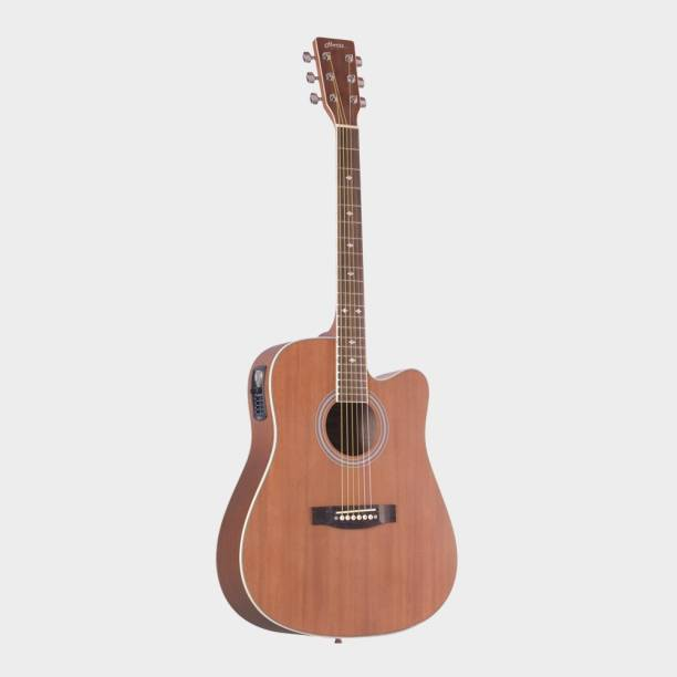 Hertz HZA-9000 Guitar with EQ Semi-acoustic Guitar Linden Wood Rosewood