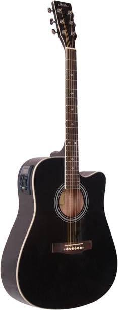 Hertz HZA-9000 Semi-acoustic Guitar Linden Wood Rosewood
