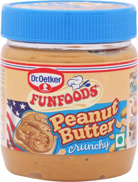 FUN FOODS Peanut Butter Crunchy 340 g