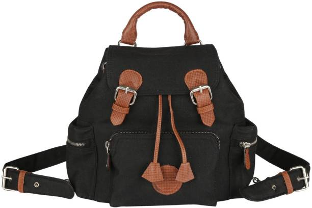 b9e756683d8c Black Backpack Handbags - Buy Black Backpack Handbags Online at Best ...