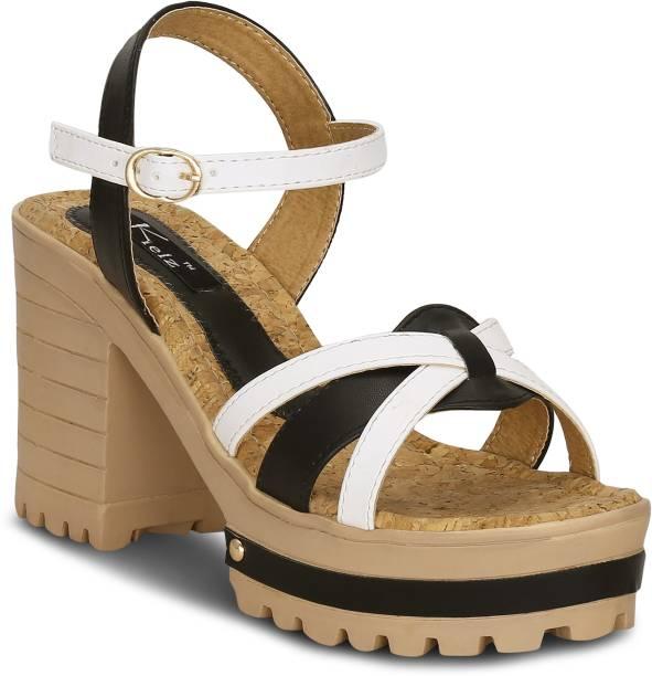 e273945b1a99 Kielz Women Black Heels