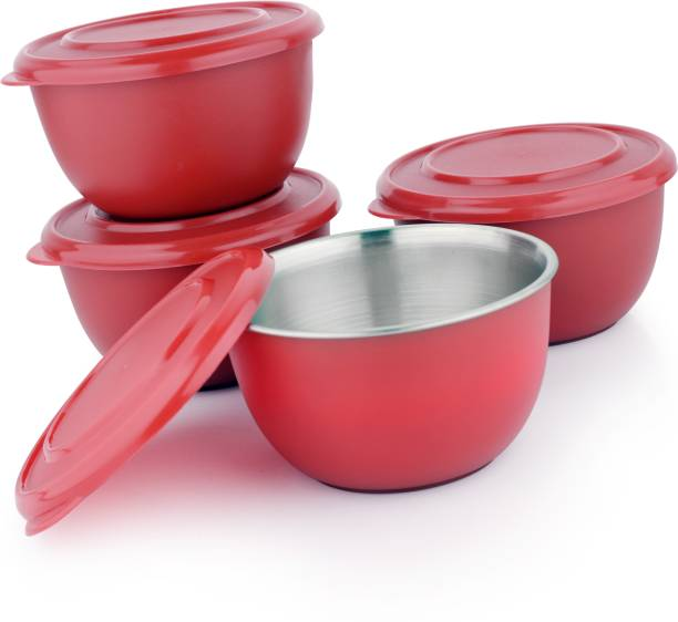 liefde Microwave Safe Bowls Stainless Steel Storage Bowl