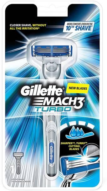 GILLETTE Mach 3 Turbo Manual Razor