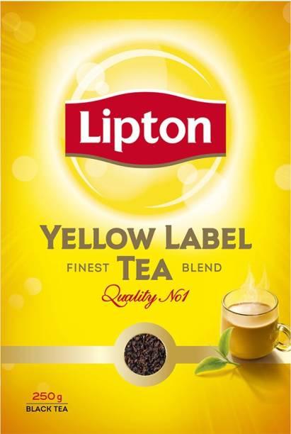 Lipton Yellow Label Black Tea Box