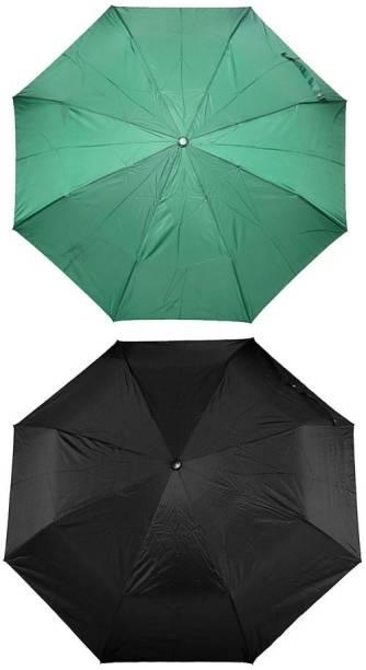 Bizarro.in 3 Fold Set of 2 Plain Office Men::Women_49 Umbrella