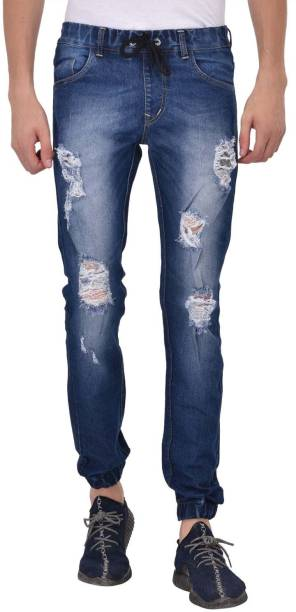 Ansh Fashion Wear Regular Men Blue Jeans
