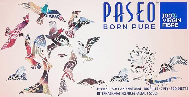 Paseo Born Pure Facial Tissue Box