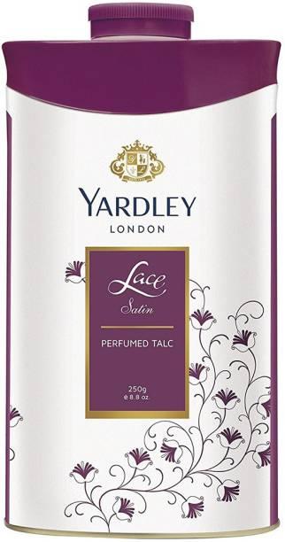 Yardley London Lace Satin Perfumed Talc