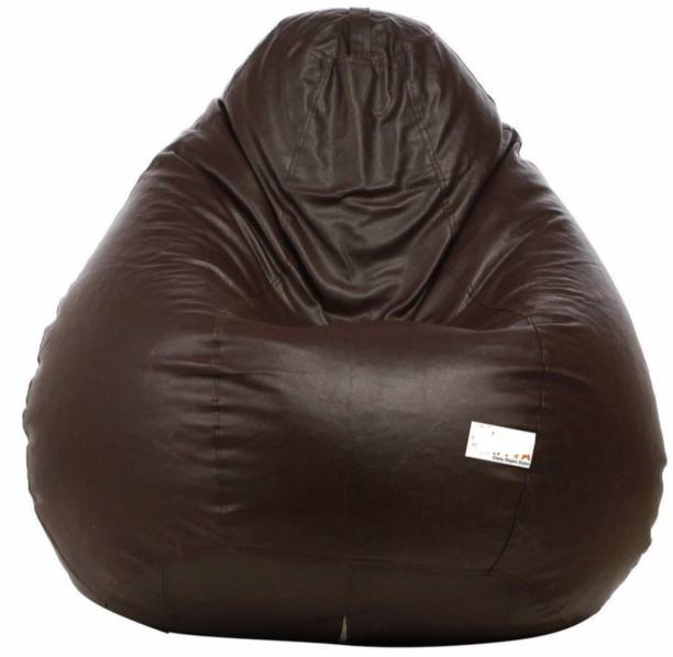 VSK XXL Tear Drop Bean Bag Cover  (Without Beans)