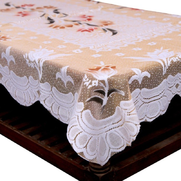 Kuber Industries Floral 4 Seater Table Cover & Table Covers | Table Covers Under Rs.299 at Flipkart