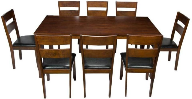 Woodness Solid Wood 8 Seater Dining Set