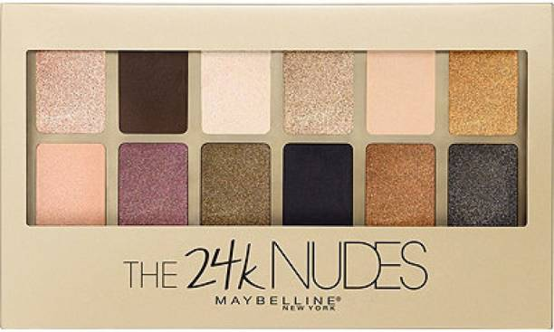 MAYBELLINE NEW YORK The 24K Nudes Eyeshadow Palette 9 g