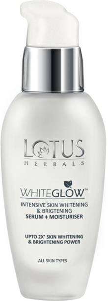 LOTUS MAKE - UP WhiteGlow Intensive Skin Whitening & Brightening Serum + Moisturizer