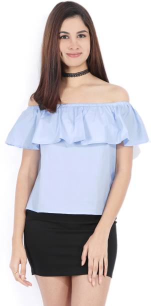 8c0dc68cb25f98 Off Shoulder Tops - Buy Off Shoulder Tops   One Shoulder Tops Online ...