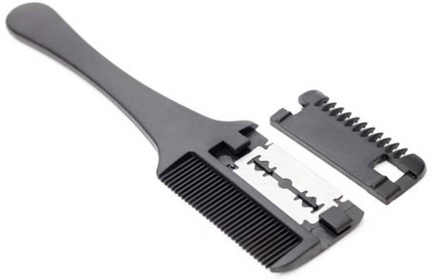 Professional Trimmer Comb Dual Side Cutting Slim Haircuts Blade Hair Razor Comb Scissor Trimmer Hair