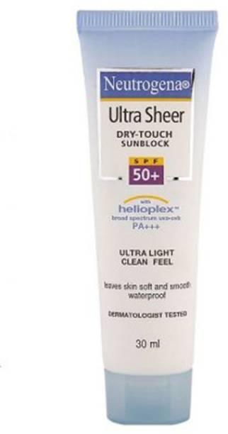 NEUTROGENA Ultra Sheer Sunblock - SPF 50+ PA+++