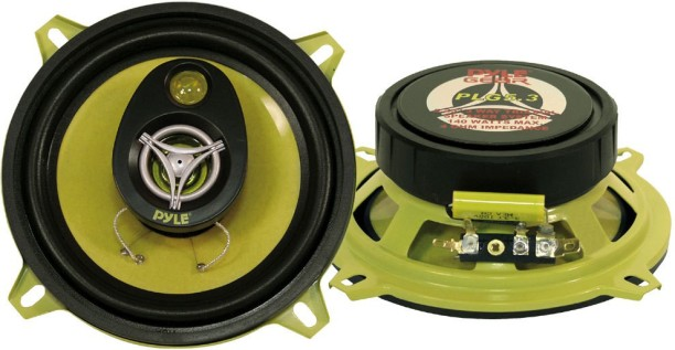 Set of 2 Sound Around Pyle PLSL6502 Plus Series 6.5-Inch 200 Watt Slim Mount 2-Way Coaxial Speakers