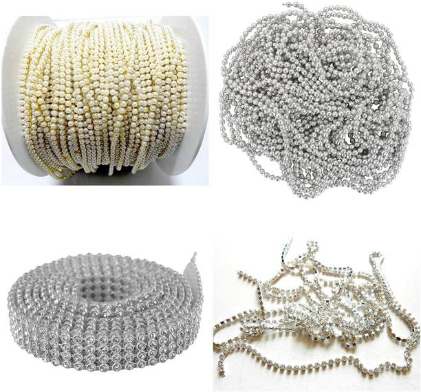 Do it yourself kits art craft kits buy do it yourself kits art am jewellery making silver chains stone lace silver combo set pack of 4 items solutioingenieria Image collections