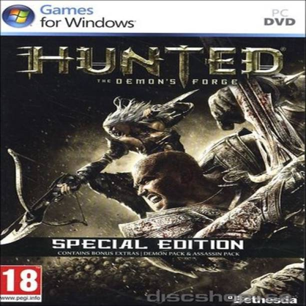 SONY Hunted: The Demon's Forge Special Edition(PC Video Game)  Gaming Accessory Kit