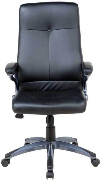Woodness Leatherette Office Arm Chair
