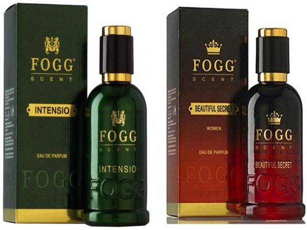 FOGG COMBO PACK OF FOGG INTENSIO PERFUME 90 ML + FOGG BEAUTIFUL SECRET PERFUME Eau de Parfum  -  90 ml