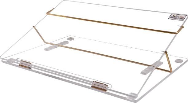 RASPER Acrylic Writing Desk (21x15 Inches) Plastic Portable Laptop Table