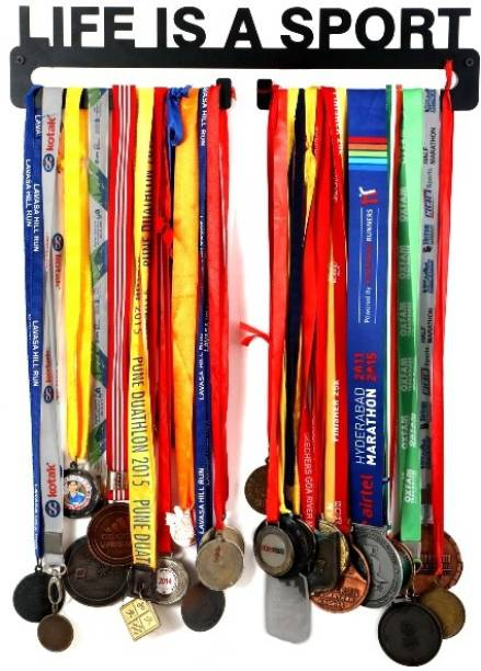 "Fitizen Life is a Sport 18"" hanger Medal"
