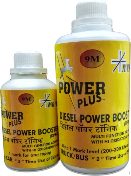 Power Plus COMBO PACK OF DIESEL POWER BOOSTER(TRUCK)+DIESEL POWER BOOSTER(CAR) Engine Cleaner