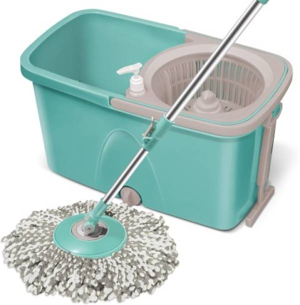 Spotzero by Milton Classic Spin Mop, Bucket