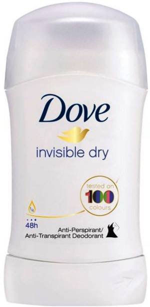 DOVE Imported (Made In EU) Invisible Dry Antiperspirant Deodorant Stick  -  For Women