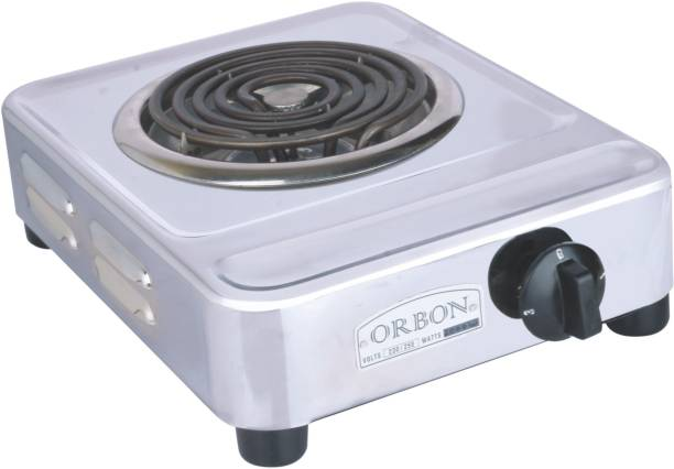 Orbon 2000 Watts Silver With Rotary Switch ( With Free Shipping & Updated GST Rates ) Electric Cooking Heater