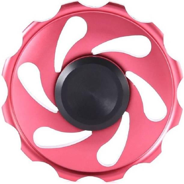 Akrobo Metal Flower Red Fidget Spinner