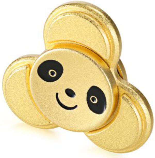Akrobo Cute Panda Gold Fidget Spinner