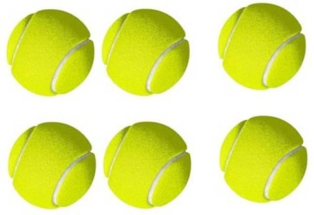 Solutions24x7 cricket tennis ball tennis . pack of 6 Tennis Ball