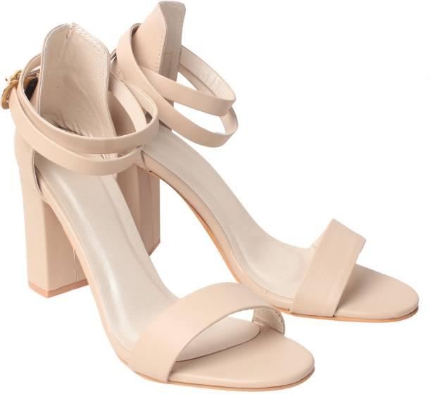 0342c5ebb28d Klaur Melbourne Women Cream Heels. Nude Heels Online ...