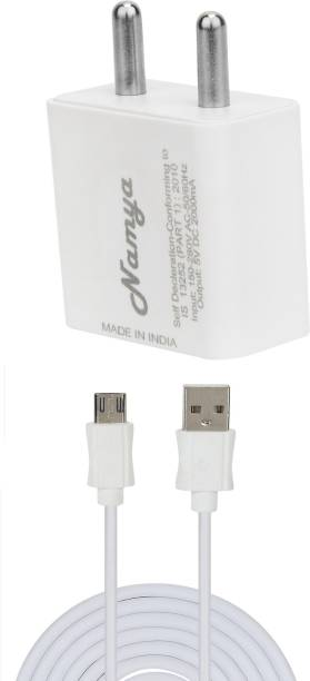 NAMYA 2A. FAST CHARGER &SYNC/DATA CABLE FOR LE__NVO K6 POWER 5 W 1 A Multiport Mobile Charger