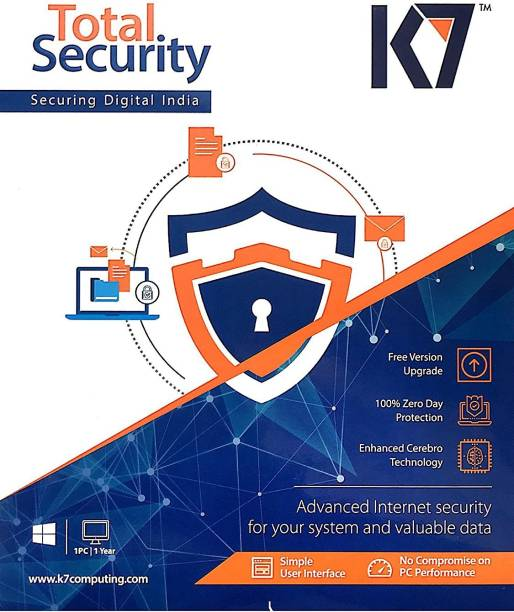 K7 Total Security 1.0 User 3 Years