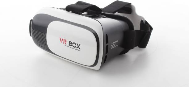 MEMORE Box 2.0 2nd Gen Virtual Augmented Reality Cardboard 3D Video Glasses- White